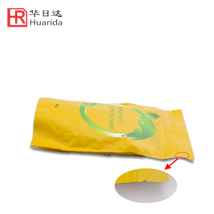 Wholesale Aluminum Foil Bag Printed Coffee Tea Packaging Plastic Bag