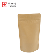 Laminated Plastic Bag Ziplock Kraft Paper Bag